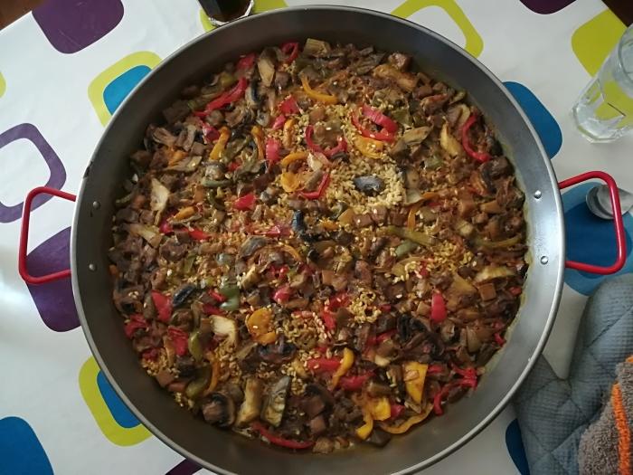 paellita de verduras